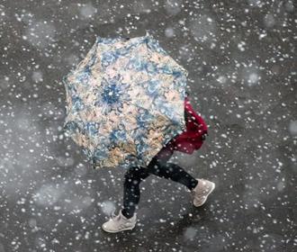 Мокрый снег пройдет в ряде областей Украины в ближайшие дни