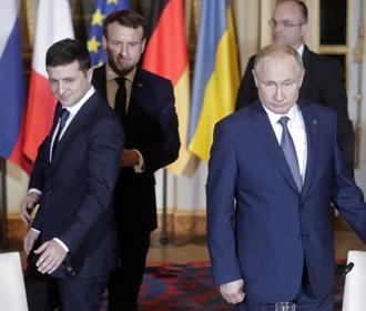 Встрече Зеленского и Путина мешает вопрос Крыма - Песков