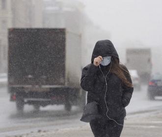 Небольшой мокрый снег ожидается на выходных в некоторых регионах Украины