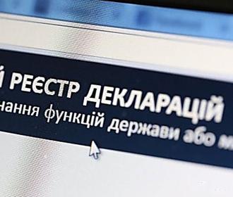 Рада в первом чтении одобрила законопроект о лишении свободы за недостоверное декларирование