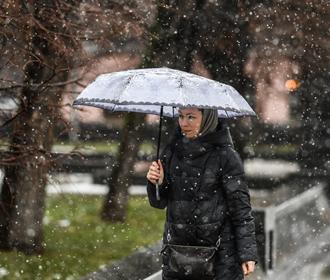 Снег ожидается в большинстве областей Украины во вторник
