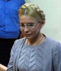 Тимошенко всё-таки встала в суде