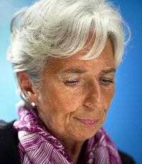 Лагард объявила, что МВФ признал Национальный переходный совет Ливии