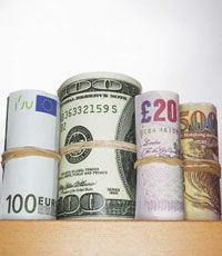 Евро упал на межбанке