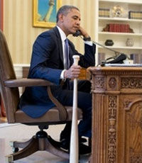 Cерийный интервент Обама