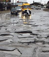 Износ дорожного фонда на Украине почти 100%