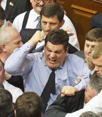 """В центре Киева избили """"свободовца"""" Ильенко"""