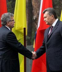 Янукович в Польше будет говорить об ассоциации с ЕС
