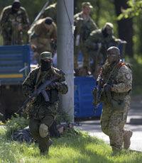 Под Луганском у пограничного поста идет бой