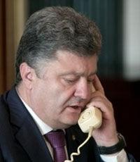 Порошенко обсудил по телефону с с главой МВФ вопросы сотрудничества