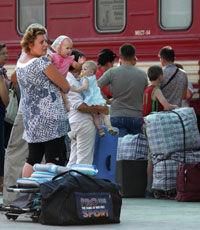 Украина стала четвертой в мире по числу беженцев