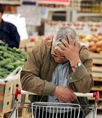 Инфляция в Украине приблизилась к 25 процентам