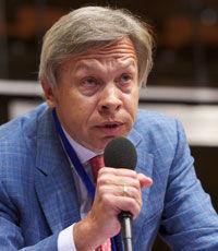 Пушков заявил, что Яценюка нельзя принимать всерьез