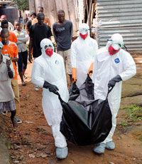 Число зараженных Эболой превысило 14 тысяч