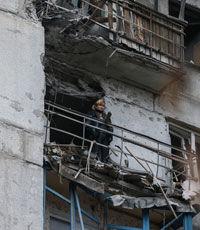 Ночные обстрелы Донецка привели к масштабным разрушениям