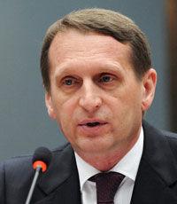 Нарышкин: конституционная реформа - единственный путь восстановить мир на Украине