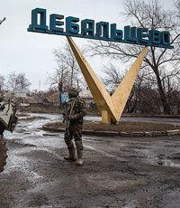 Силовики сообщили о «жестоких боях» на окраинах Дебальцево