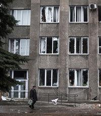 Ополченцы захватили милицию и вокзал в Дебальцево