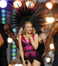 Кайли Миноуг посмеялась над идеей участвовать в «Евровидении»