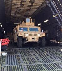 Первые бронированные автомобили из США отправят десантникам