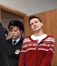 Савченко перевели обратно в СИЗО