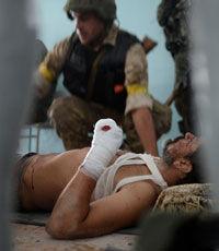За прошедшие сутки в зоне АТО были ранены трое украинских бойцов
