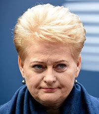 Грибаускайте: Режима прекращения огня на Донбассе больше нет