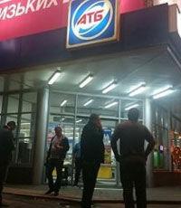 В сети появилось видео стрельбы в харьковском супермаркете