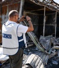 Представители СЦКК инспектируют Горловку