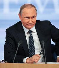 """Путин призвал Европу """"не играть в одни ворота"""""""
