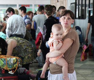 Более трети переселенцев не планирует возвращаться на Донбасс