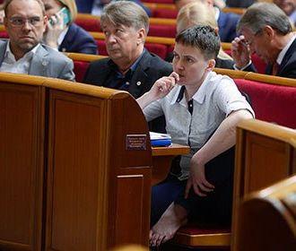 Савченко опасается, что начнет драться в Верховной раде
