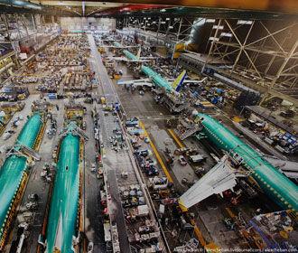 Компания Boeing впервые с 1962 года не получила за январь ни одного заказа