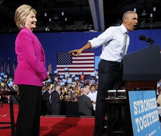 Wikileaks: Обама лгал, утверждая, что не знал об использовании Клинтон личного сервера