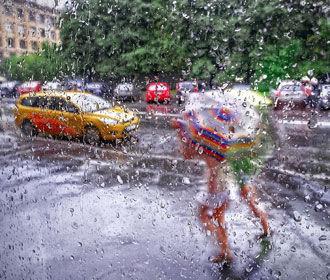 На выходных в западных и северных областях Украины ожидаются дожди
