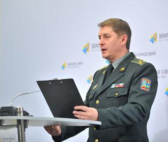 В зоне АТО за сутки погиб один украинский боец