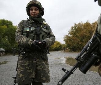 В Украине резко увеличилось число женщин-военных
