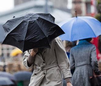 Завтра на Украине дождливо и ветрено