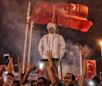 Турция допустила возвращение смертной казни