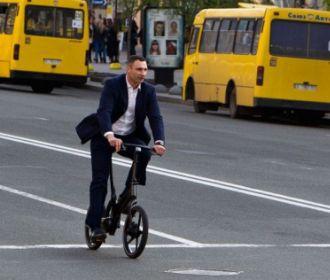 Кличко допустил запрет на передвижение личных авто