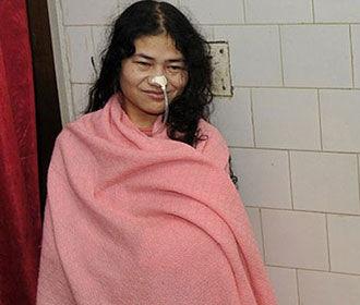 Индийская правозащитница прекратила длившуюся 16 лет голодовку