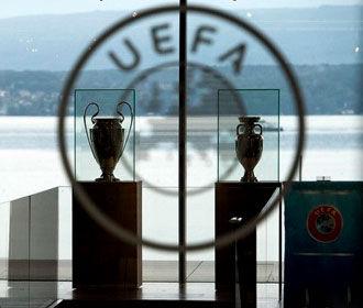 УЕФА оштрафовала ФФУ за поведение болельщиков после матча Чехия-Украина в Лиге Наций