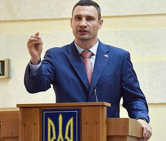 Кличко намерен вновь баллотироваться в мэры Киева
