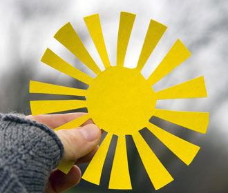 В Украину в пятницу придет потепление из Европы