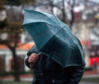 В Украину идет дождевой фронт