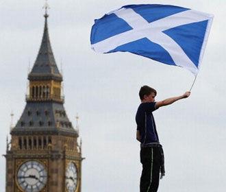 Жители Шотландии выступают за выход из Великобритании – опрос