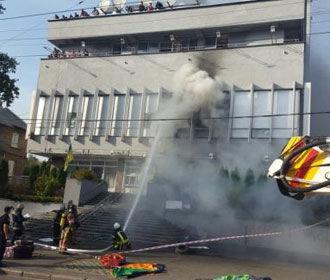 """Аваков: одна из версий пожара на """"Интере"""" - самоподжог"""