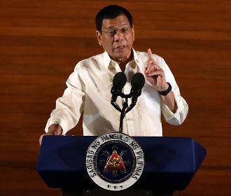 Президент Филиппин пообещал расправиться с наркоманами как Гитлер с евреями