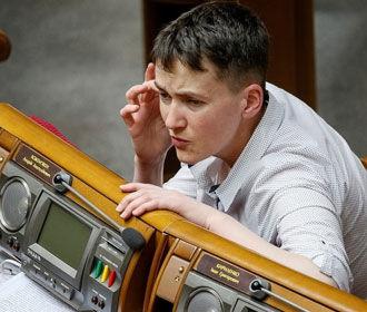 Савченко поддержала введение визового режима с Россией