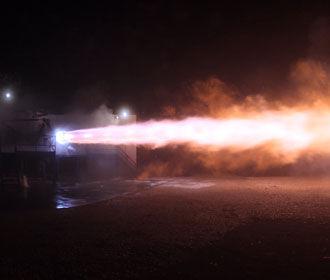 SpaceX протестировала двигатели для полета к Марсу